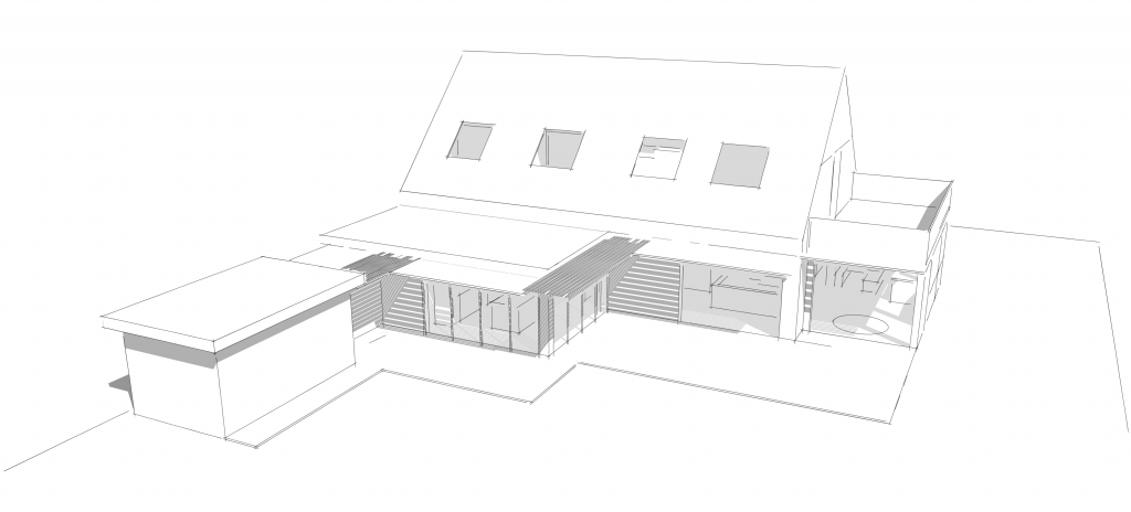 Extension rénovation intérieur La Baule